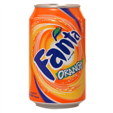 blikje fanta orange
