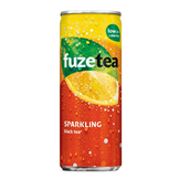 blikje fuze tea lemon sparkling black