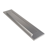 briefplaat aluminium f1 oxloc