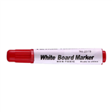 whiteboard marker rood