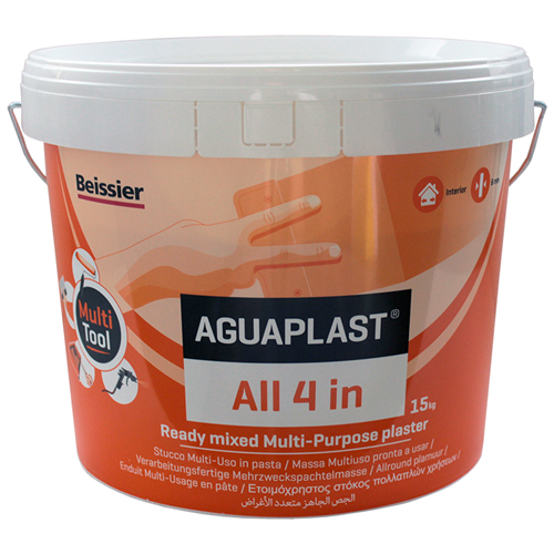 Pleister All-4-In Aguaplast - 15KG WIT